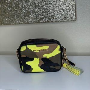 Michael Kors Jet Set Camo Crossbody Camera Bag
